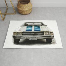 CLASSIC CAR LOVE Rug