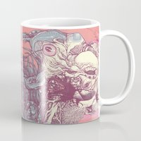 insect Mugs featuring insect by Maethawee Chiraphong