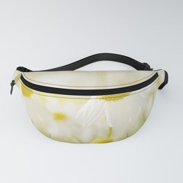 Floral Spring Meadow with Flowers Camomile and Daisies Fanny Pack