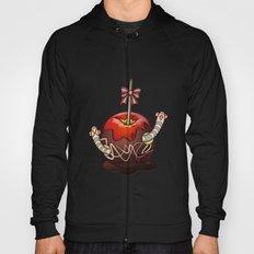 SWEET WORMS 2 - caramel apple Hoody