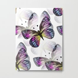 Elusive Butterfly Metal Print