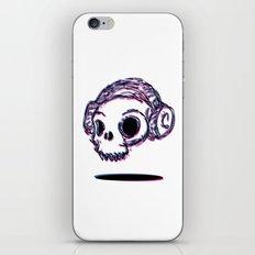 3D Skull iPhone Skin