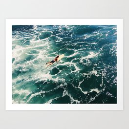 Surf SD Art Print