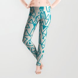 Abstract geometric pattern I Leggings