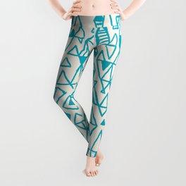 Abstract geometric pattern I Leggings