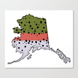 Alaska Rainbow Trout Canvas Print