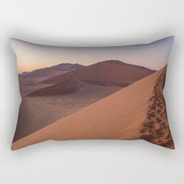 Dune 45 at Sunrise Rectangular Pillow