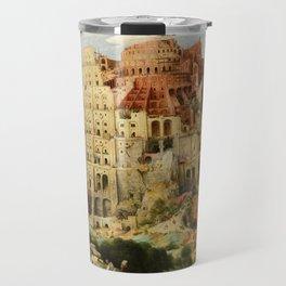 Pieter Bruegel the Elder - The Tower of Babel Travel Mug