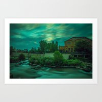 Five Minutes of Colorado Sunset Art Print