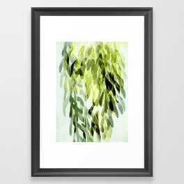 FP 3 - green Framed Art Print