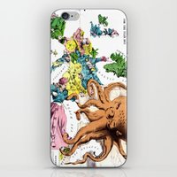 political iPhone & iPod Skins featuring Vintage Political Cartoon Map of Europe (1877)  by BravuraMedia