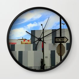 Right Off Target Wall Clock