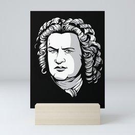Bach Portrait Mini Art Print