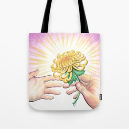 Gift of a Flower Tote Bag