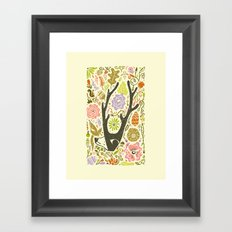 Elking Elk Framed Art Print