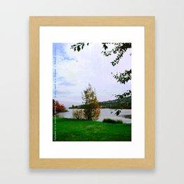 Every Leaf is a Flower - simple Framed Art Print
