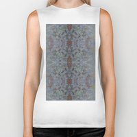 marijuana Biker Tanks featuring Marijuana print  by Kim Barton