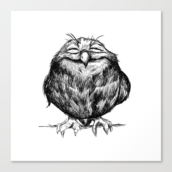 Owl Ball Canvas Print