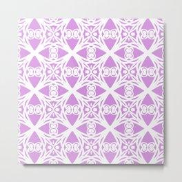Charisma in Lavender Metal Print