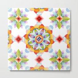 Beaux Arts Mandala Metal Print