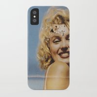 marylin monroe iPhone & iPod Cases featuring Marylin 1 by j.levent