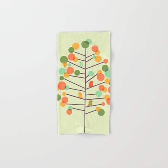 Happy Tree - Tweet Tweet Hand & Bath Towel