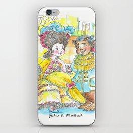La Belle et la Bete by Joshua B. Wichterich iPhone Skin