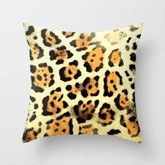 Fur XI Throw Pillow