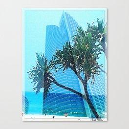 Coastal Highrise Canvas Print