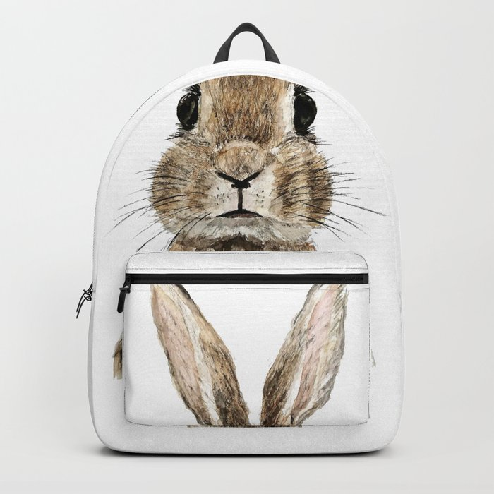 cute innocent rabbit Backpack