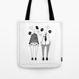 Little Talks Tote Bag