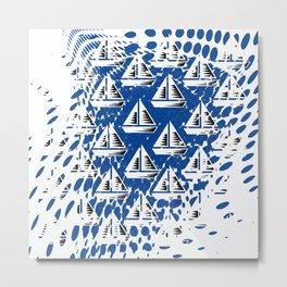 Sailing. Metal Print
