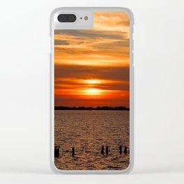 Stop Waiting Clear iPhone Case