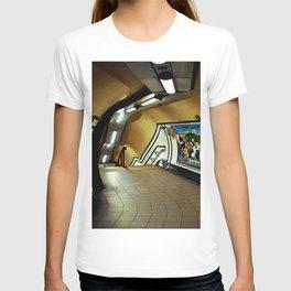 Empty London Underground Station England T-shirt