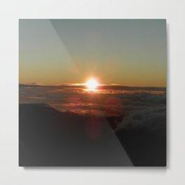 Sunrise from Mt. Haleakala Metal Print