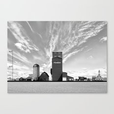 Steer to Steeple Canvas Print