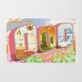 Greetings from Ooo / Adventure Postcard Rug