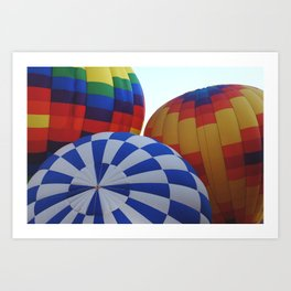 Hot Air Rising Art Print