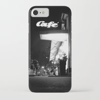 cafe iPhone & iPod Cases featuring Cafe  by Julia Aufschnaiter