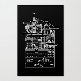 TOKYO BY NIGHT Canvas Print