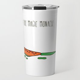 Professor Goo and the Magic Monocle Travel Mug