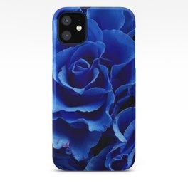 Blue Roses Flowers Plant Romance iPhone Case
