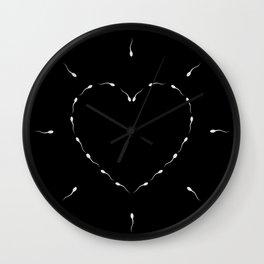 indecent Heart Wall Clock