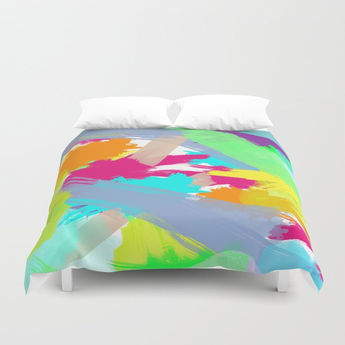 Vibrant Sensation Duvet Cover