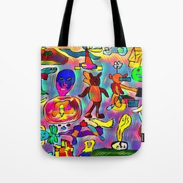Unwanted guests Tote Bag