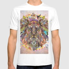 Emergence X-LARGE Mens Fitted Tee White