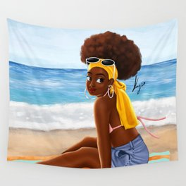 beach day Wall Tapestry