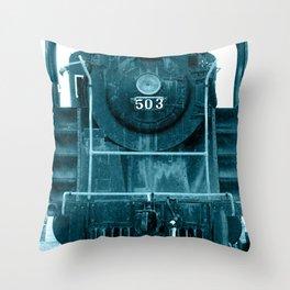 Train 2 Throw Pillow