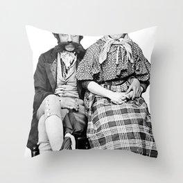 Welsh Couple  Throw Pillow