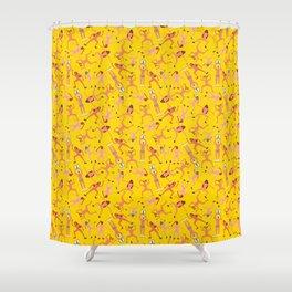 Lucha Libre Shower Curtain